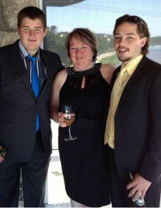 Eion's family